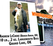 Big Catch winner 8-18-11
