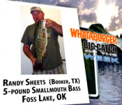 Big Catch winner 9-22-11