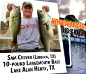 Big Catch winner 10-6-11