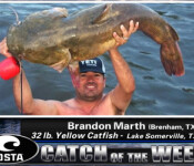 Costa Catch winner 5-17-12