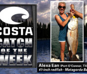Costa Catch winner 9-20-12
