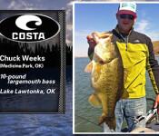 Costa Catch winner 8-8-13