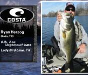 Costa Catch winner 8-15-13