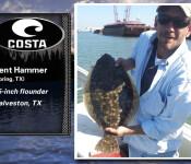 Costa Catch winner 8-22-13