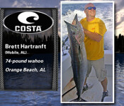 Costa Catch south winner 8-21-14