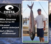 Costa Catch Sourh winner 10-16-14