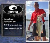 Costa Catch SW winner 5-28-15