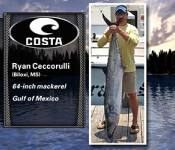Costa Catch South 6-25-15