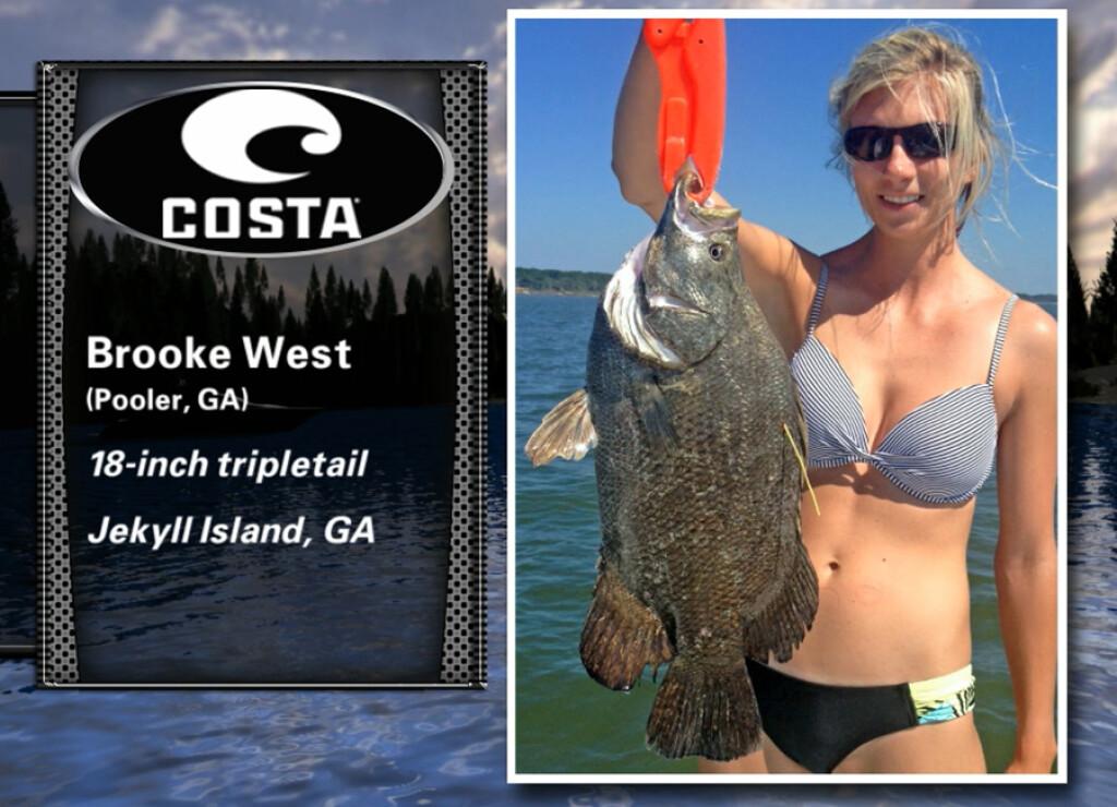 2016 Costa Catch Winners SOUTHEAST